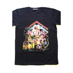 Camiseta adulto Stranger Things - Starcourt Talla M negra