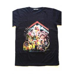 Camiseta adulto Stranger Things - Starcourt Talla L negra