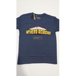 Camiseta adulto My Hero Academia Talla S azul