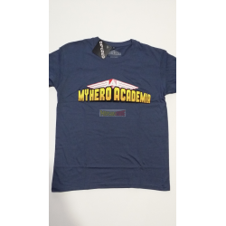 Camiseta adulto My Hero Academia Talla L azul