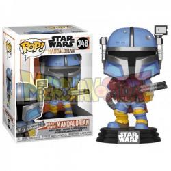Figura Funko POP! Star Wars The Mandalorian - Heavy Infantry Mandaloria 348