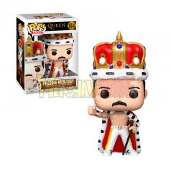 Figura Funko POP! Queen - Freddie Mercury King 184