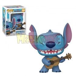 Figura Funko POP! Lilo & Stitch - Stitch w/Ukelele 1044