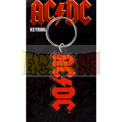 Llavero de goma AC/DC Logo