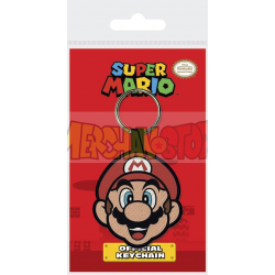 Llavero de goma Nintendo - Mario