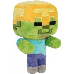 Peluche Minecraft - Zombie 18cm