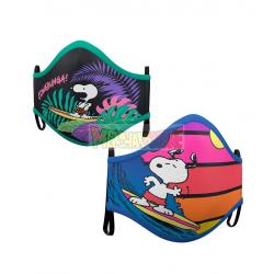Mascarilla infantil reutilizable Snoopy