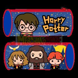 Estuche portatodo cilíndrico Harry Potter 23x8cm