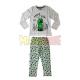 Pijama manga larga niño Minecraft gris Creeper SSSSS 10 años 140cm
