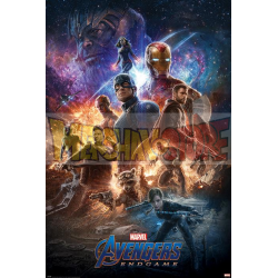 Póster Avengers - Endgame From The Ashes 61 x 91,5 cm