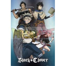 Póster Black Clover - Magic 61 x 91,5 cm