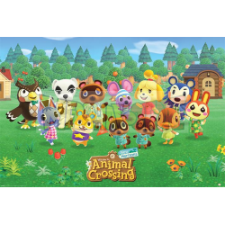 Póster Animal Crossing - Lineup 61 x 91,5 cm