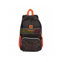 Mochila PlayStation - Controller negra - naranja 40cm