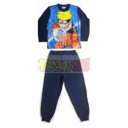 Pijama manga larga niño Naruto - Rasengan 10 años 140cm en caja regalo